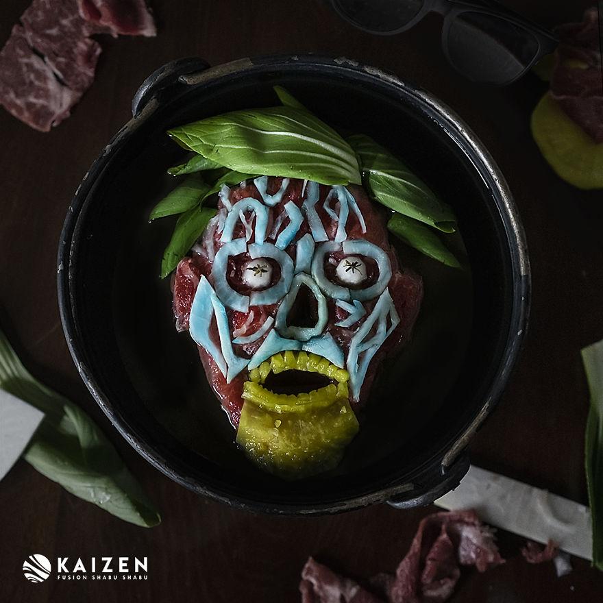 Художница сделала портреты монстров из ужасов из обычной еды   Канобу - Изображение 3741