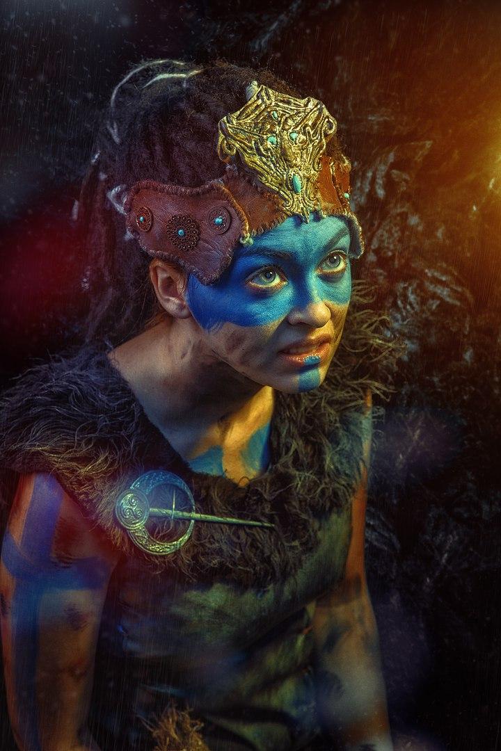 Косплей дня: воительница Сенуа иеегаллюцинации изигры Hellblade: Senua's Sacrifice. - Изображение 3