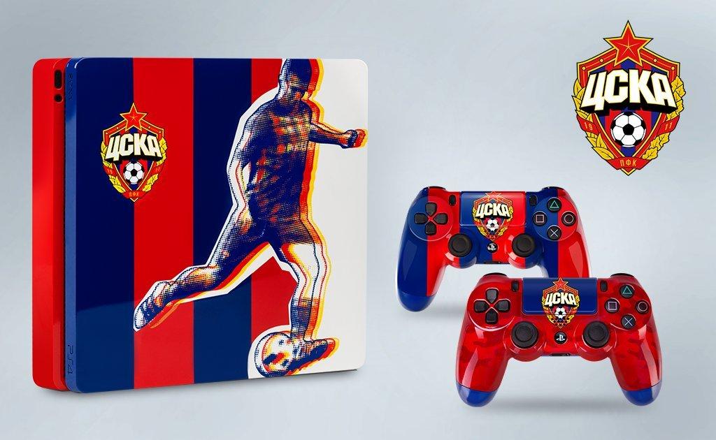 Брендированные PlayStation 4 для фанатов российских футбольных клубов | Канобу - Изображение 8154