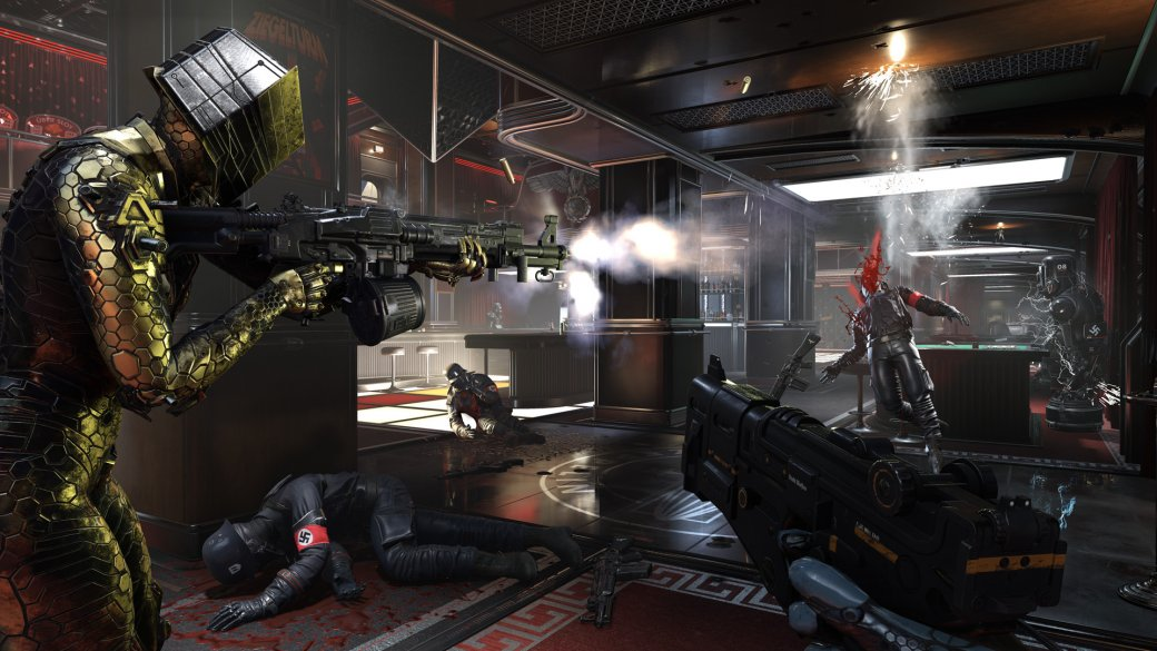 Обзор Wolfenstein: Youngblood — игра, где ненависть к нацистам растет вместе с их уровнем