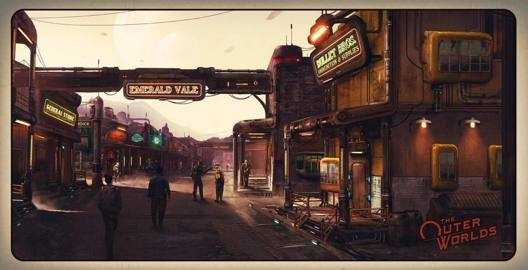 Авторы The Outer Worlds рассказали, как создавался уникальный визуальный стиль игры | Канобу - Изображение 8527