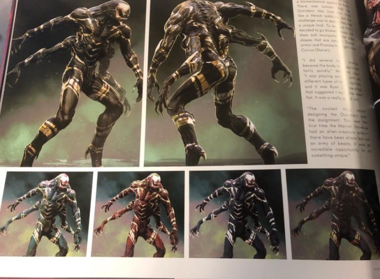 Армия Таноса в«Войне Бесконечности» поначалу выглядела как орда Веномов   Канобу - Изображение 11089