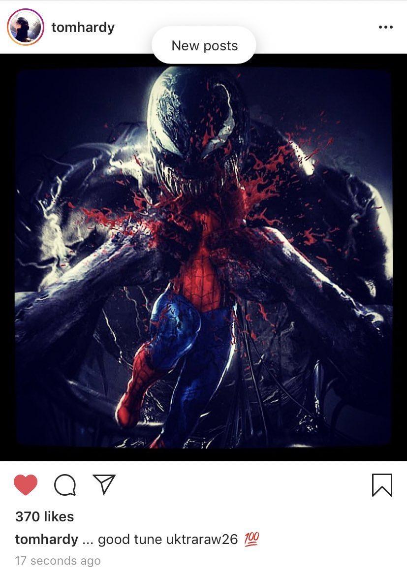 Том Харди продолжает тизерить встречу Человека-паука иВенома   Канобу - Изображение 4057