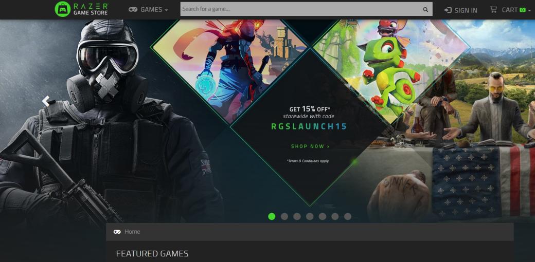 Razer открывает собственный цифровой магазин видеоигр. Уже есть скидки, бонусы и бесплатные игры. - Изображение 1
