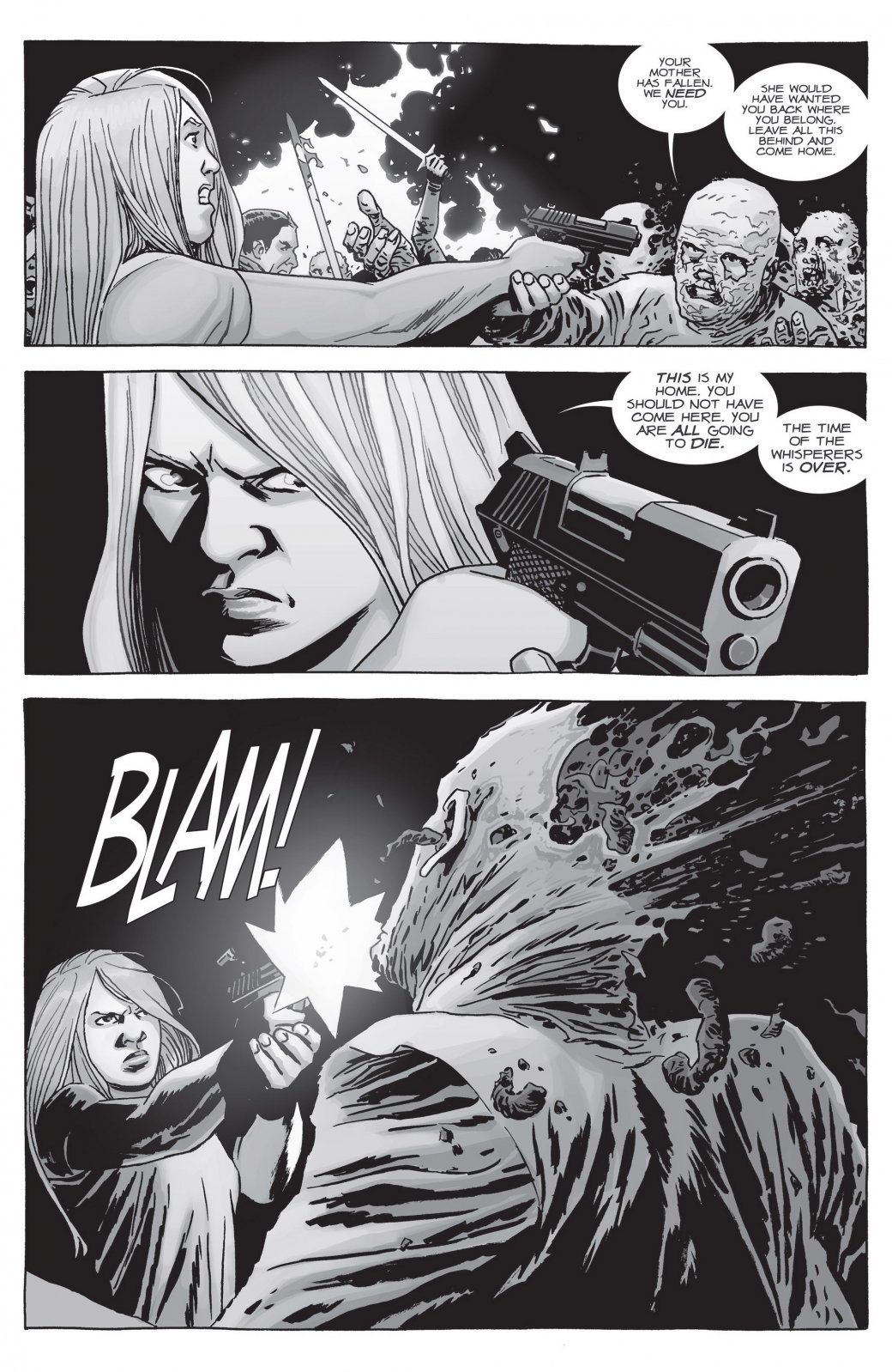 Война с Шепчущимися в комиксе The Walking Dead не оправдала ожиданий | Канобу - Изображение 22