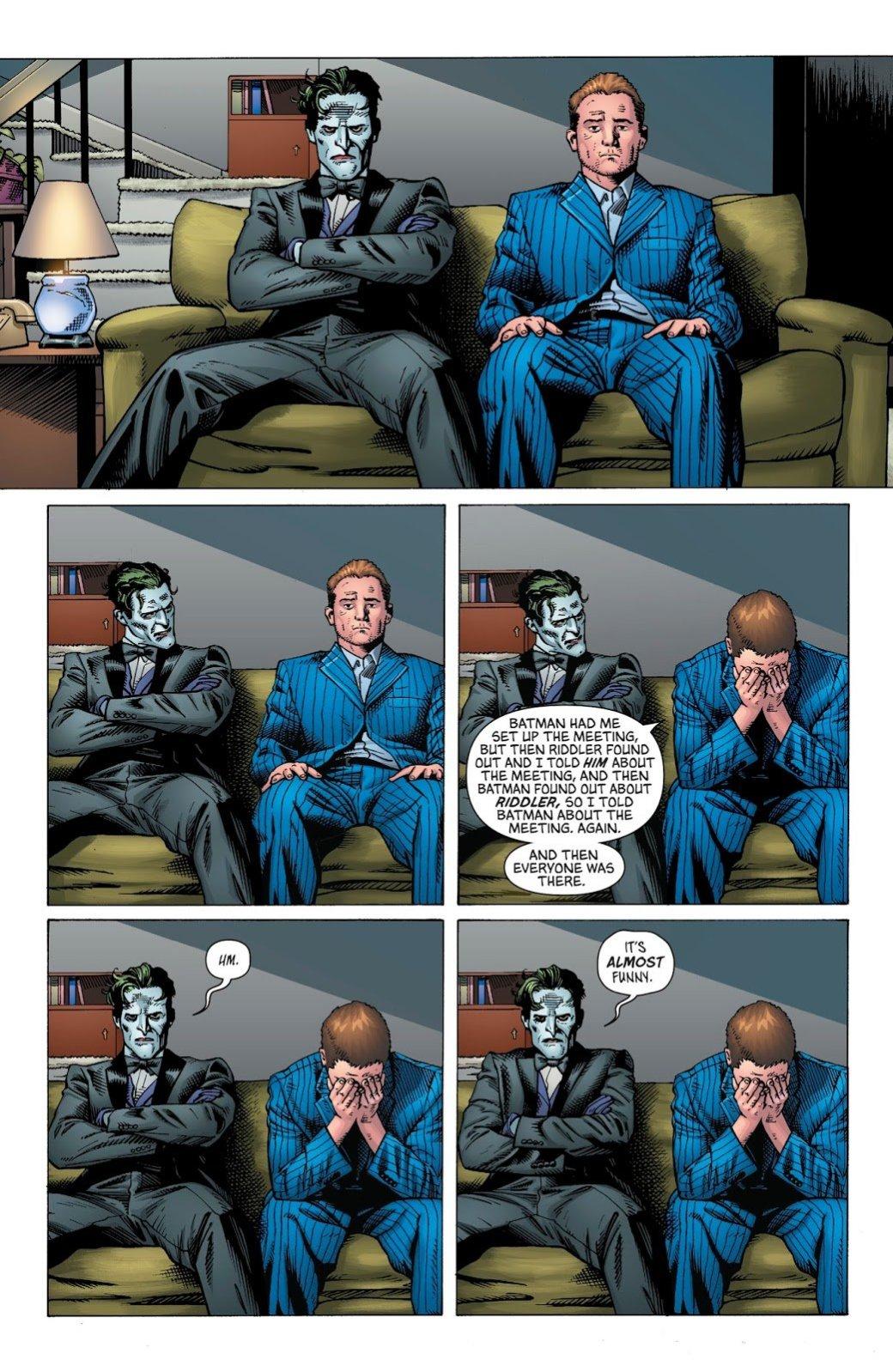 Зачем нужна была война Джокера иЗагадочника настраницах комикса «Бэтмен»?. - Изображение 15