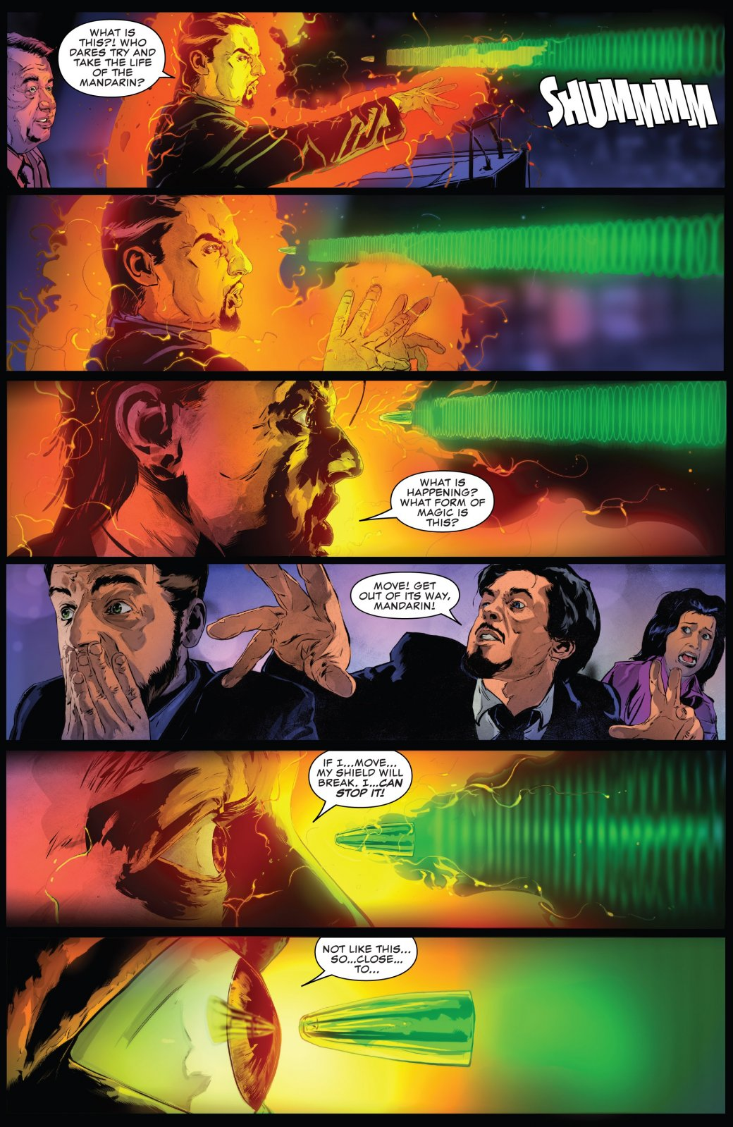Вновом комиксе Каратель убил одного изглавных врагов Железного человека | Канобу - Изображение 6127