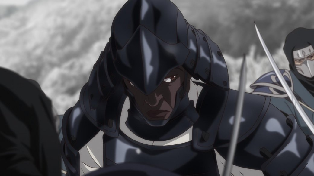 Аниме-сериал о темнокожем самурае Ясукэ выйдет на Netflix в конце апреля