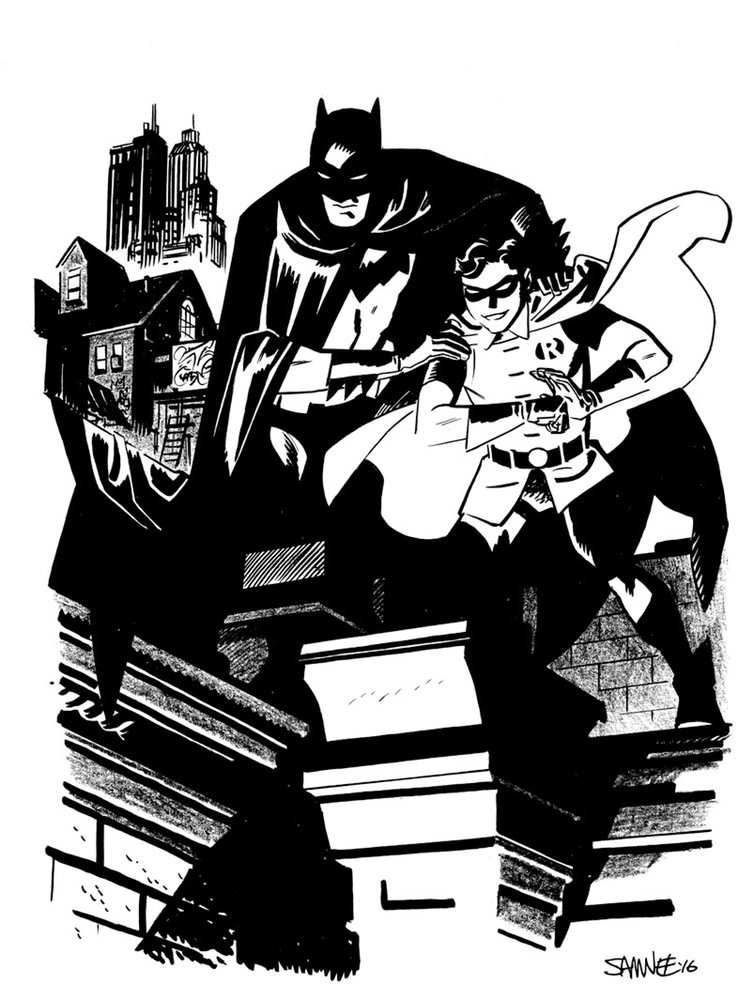 Супергерои Marvel и DC в рисунке Криса Сомни | Канобу - Изображение 8813