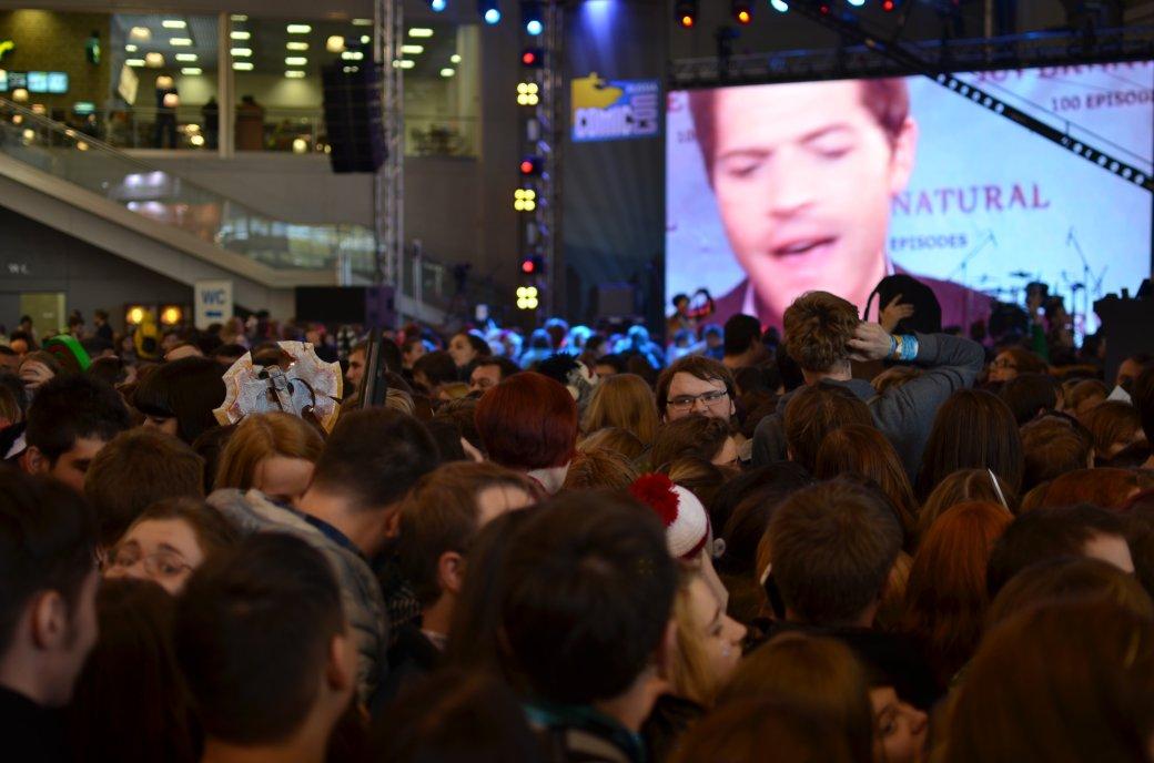 Фотоотчет с «Игромира» и Comic Con Russia, день 3 – Миша Коллинз | Канобу - Изображение 27