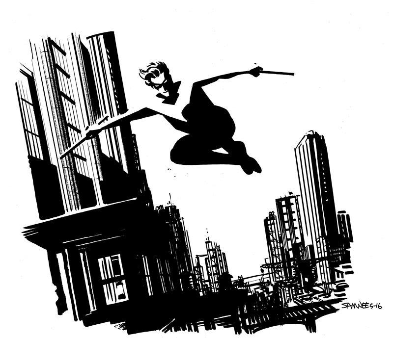 Супергерои Marvel и DC в рисунке Криса Сомни | Канобу - Изображение 8823