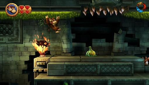 Donkey Kong Country Returns. Рецензия: банан с подвохом | Канобу - Изображение 4