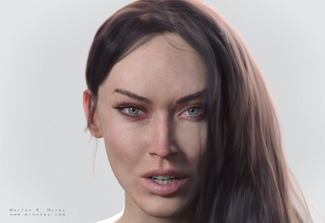 Взгляните наэти шикарные 3D-модели Росомахи, Ганса Ланды иМеган Фокс | Канобу - Изображение 5999