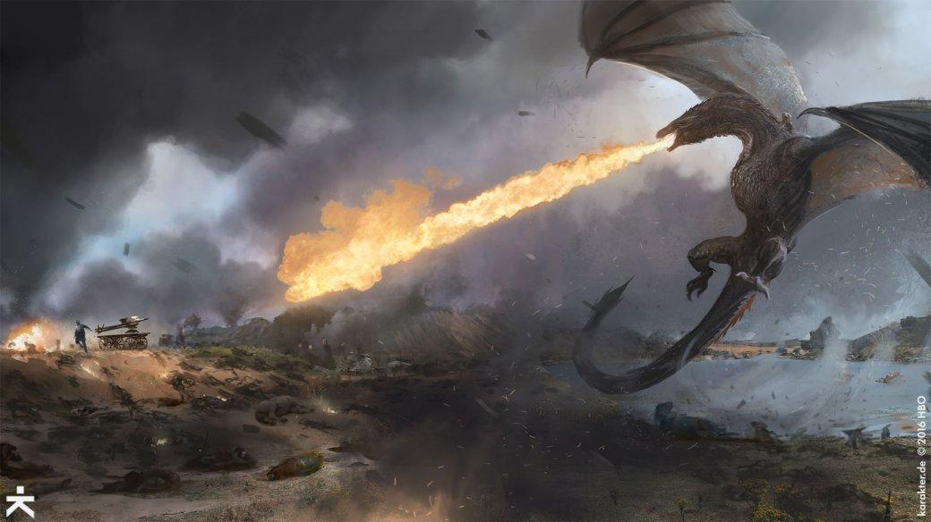 Взгляните напотрясающие концепт-арты 7 сезона «Игры престолов». - Изображение 12