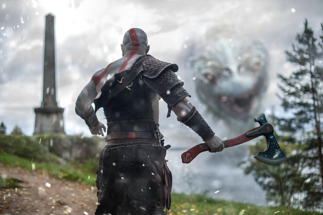 Очень брутальный Кратос вновом косплее God ofWar сPS4 | Канобу - Изображение 0