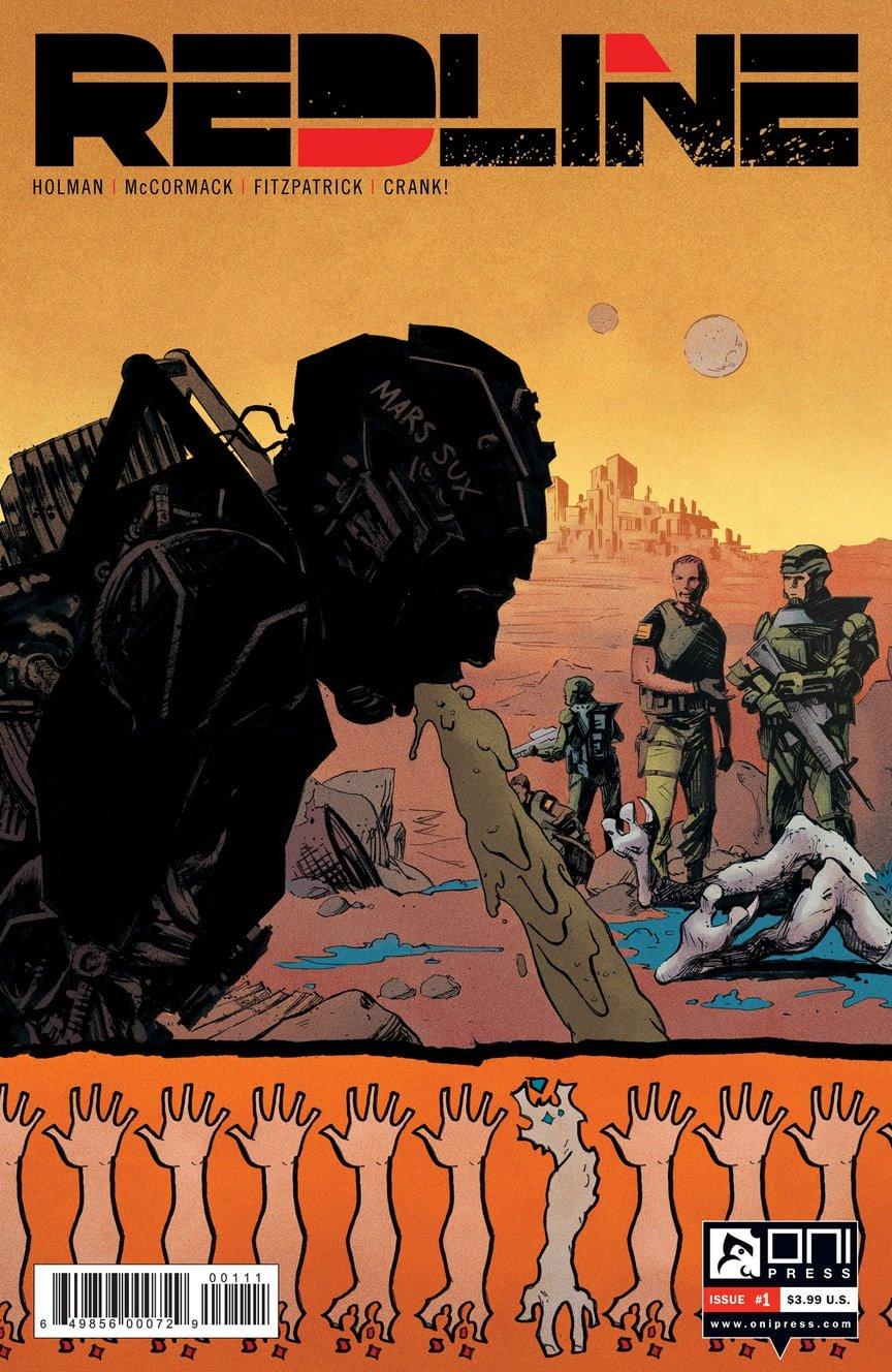 Соавтор «Арчера» напишет сатирический комикс про морпехов на Марсе | Канобу - Изображение 9488