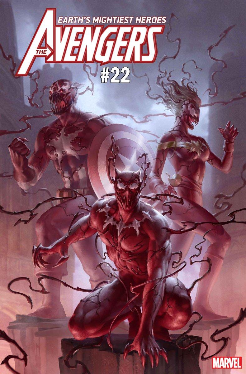 Какбы выглядели Железный человек, Халк, Сорвиголова идругие герои, еслибы ихподчинил Карнаж? | Канобу - Изображение 8065