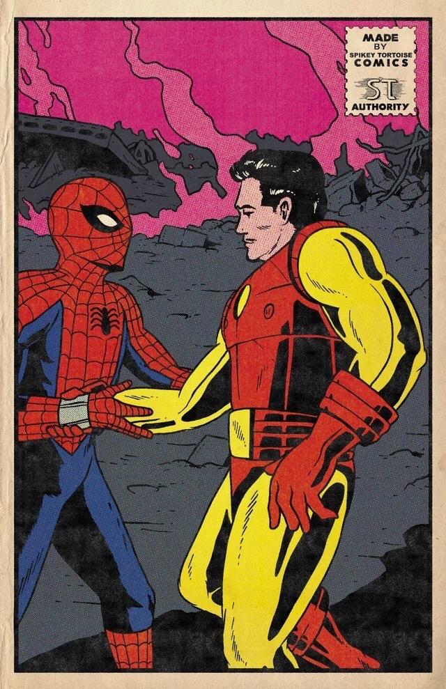 Фанат Marvel рисует знаменитые сцены из фильмов в стилистике классических комиксов  | Канобу - Изображение 3