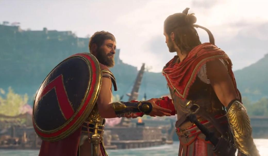 E3 2018: новый эпичный трейлер и геймплей Assassin's Creed Odyssey. Все утечки подтвердились! | Канобу - Изображение 1