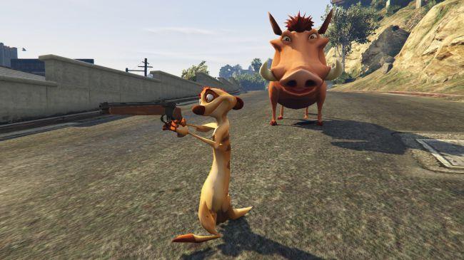 Хакуна Матата пришла вЛос-Сантос сновым модом для GTA5 | Канобу - Изображение 1