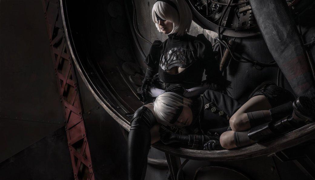 Девушки изобразили 2B и 9S в крутом косплее по Nier: Automata  | Канобу - Изображение 3