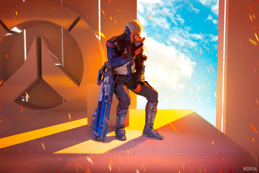 Есть еще порох в пороховницах: Ана и Солдат-76 в невероятно красочном косплее. - Изображение 7
