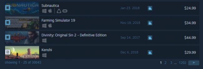 В Steam в общей сложности вышло 30 тысяч игр | Канобу - Изображение 2