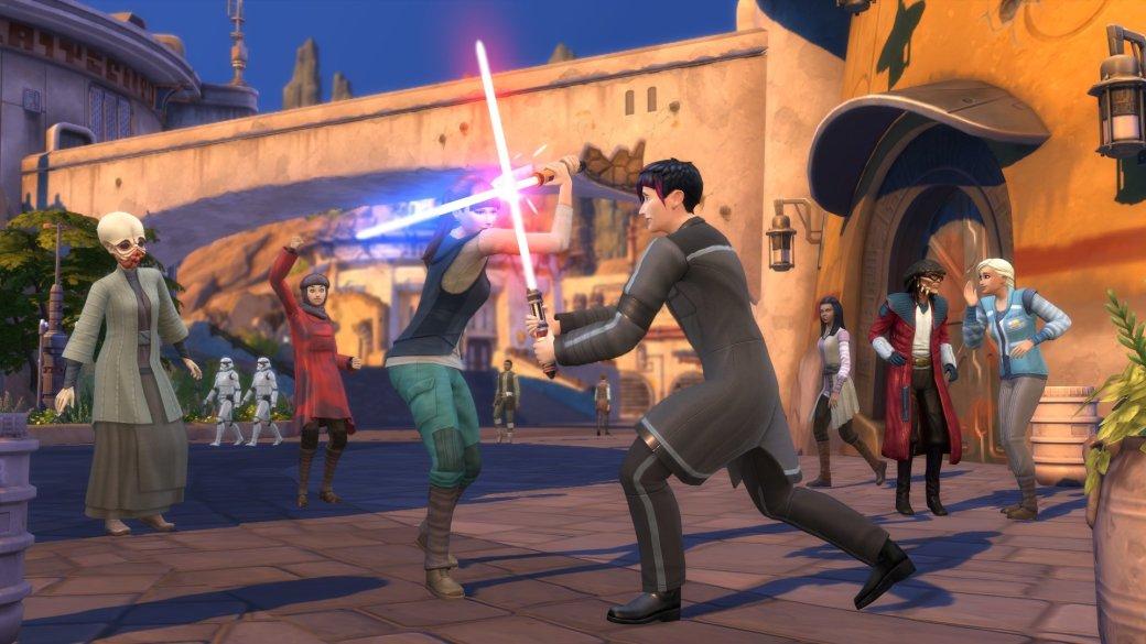 Световые мечи иКайлоРен. Что еще появилось вThe Sims 4 сдополнением «Путешествие наБатуу»?   Канобу