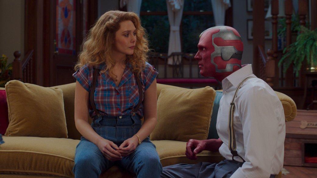 Пока Дотти улыбается. Почему сериал «ВандаВижн»— это отражение кризиса киновселенной Marvel   Канобу - Изображение 492