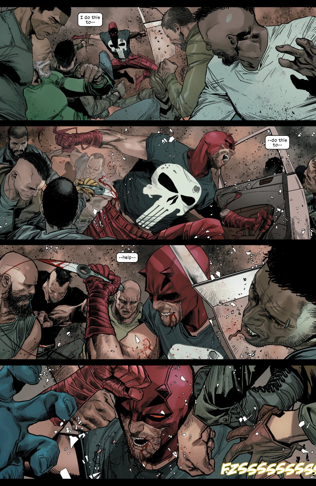 Как Человек-паук убедил Сорвиголову отказаться отзвания супергероя? | Канобу - Изображение 4
