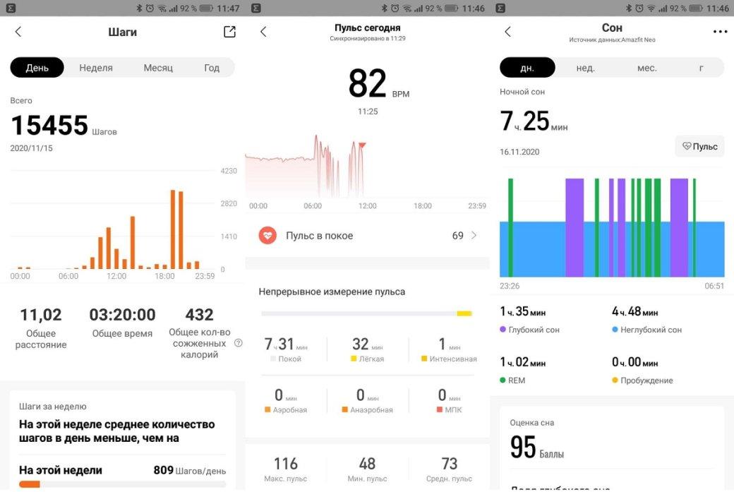 Обзор Amazfit Neo: бюджетный долгоиграющий фитнес-трекер вкорпусе ретро-часов | Канобу - Изображение 11491