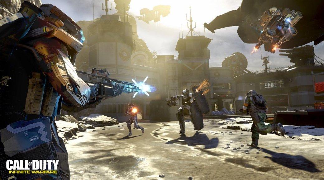 Впечатления от мультиплеера Call of Duty: Infinite Warfare   Канобу