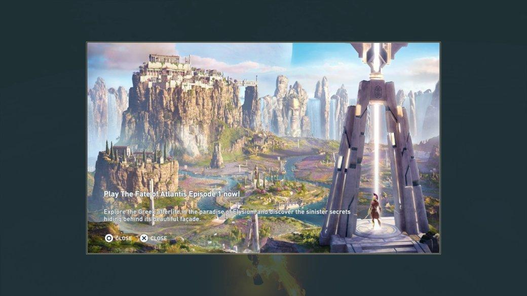 СМИ: новое дополнение для Assassin's Creed: Odyssey принесло вигру навязчивую рекламу   Канобу - Изображение 9730