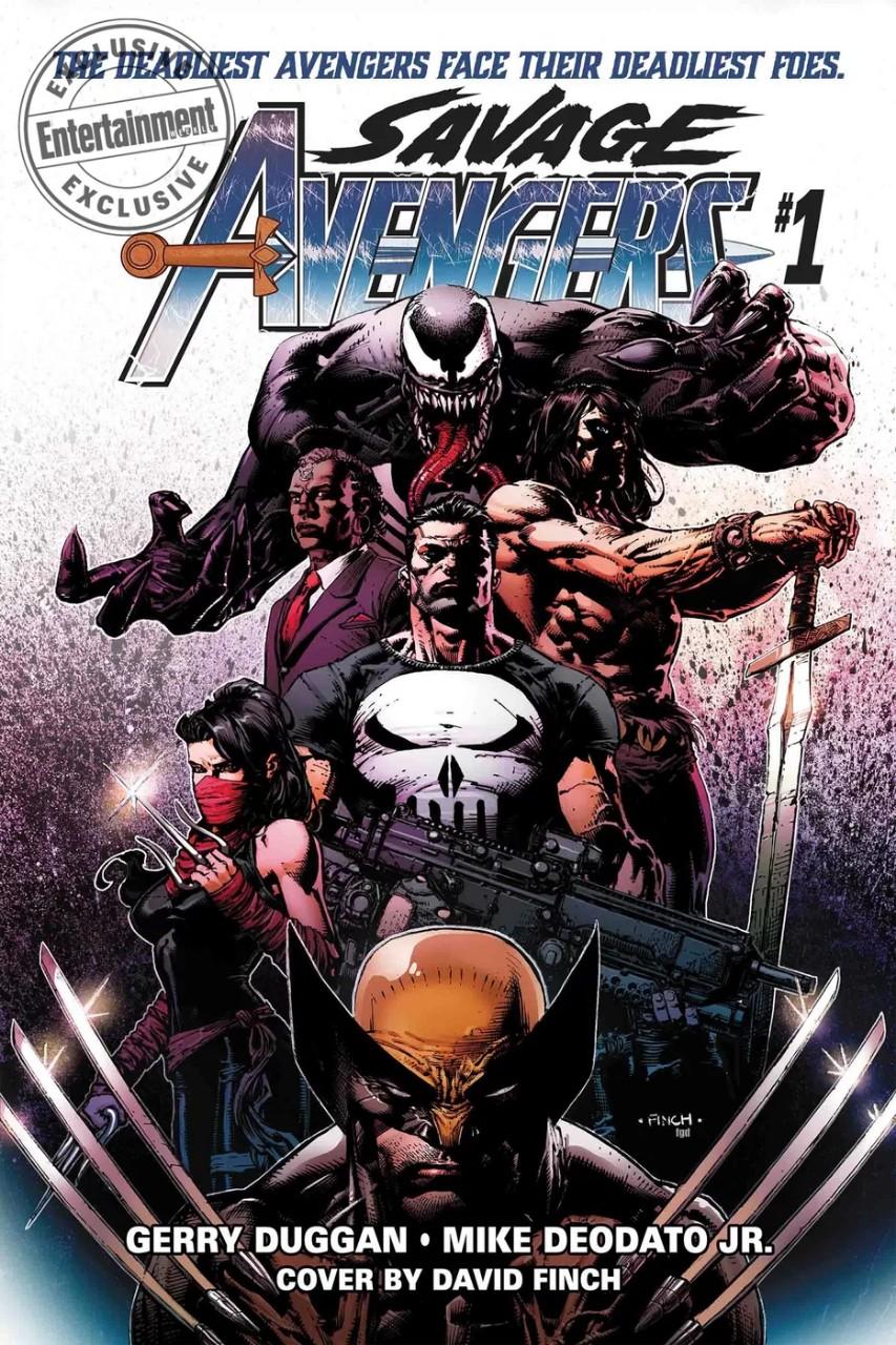 Вновой команде Мстителей появятся Каратель, Веном, Электраи… Конан-Варвар? | Канобу - Изображение 11806