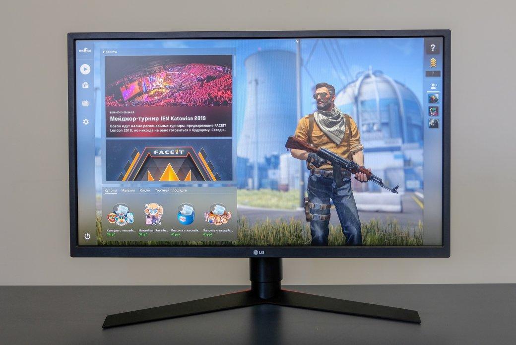 Обзор игрового монитора LG27GK750F счастотой развертки 240 Гциконкурс вчесть выхода Fallout76 | Канобу