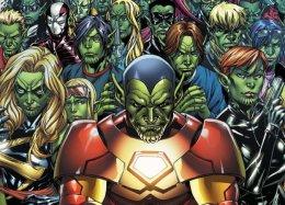 Знакомьтесь, скруллы! Marvel выпустит комикс осемье пришельцев, проживающих наЗемле