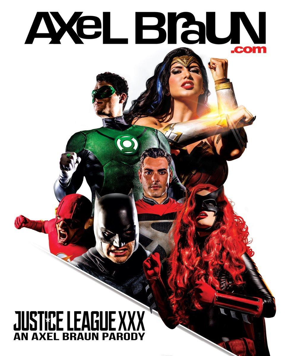 Порно пародии супергероев лига справедливости