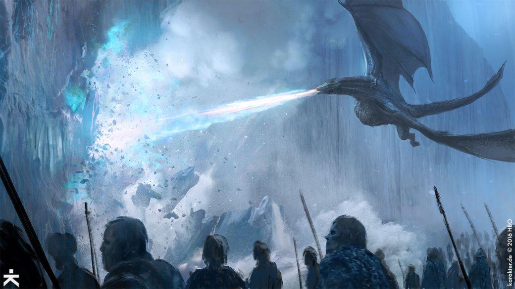 Взгляните напотрясающие концепт-арты 7 сезона «Игры престолов». - Изображение 24