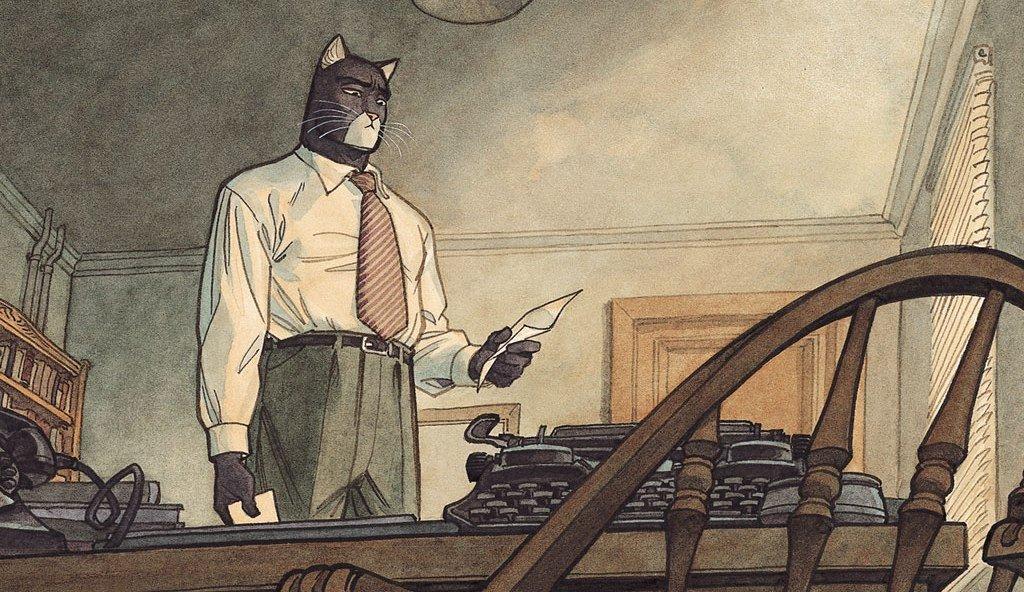 Комикс недели: Blacksad | Канобу