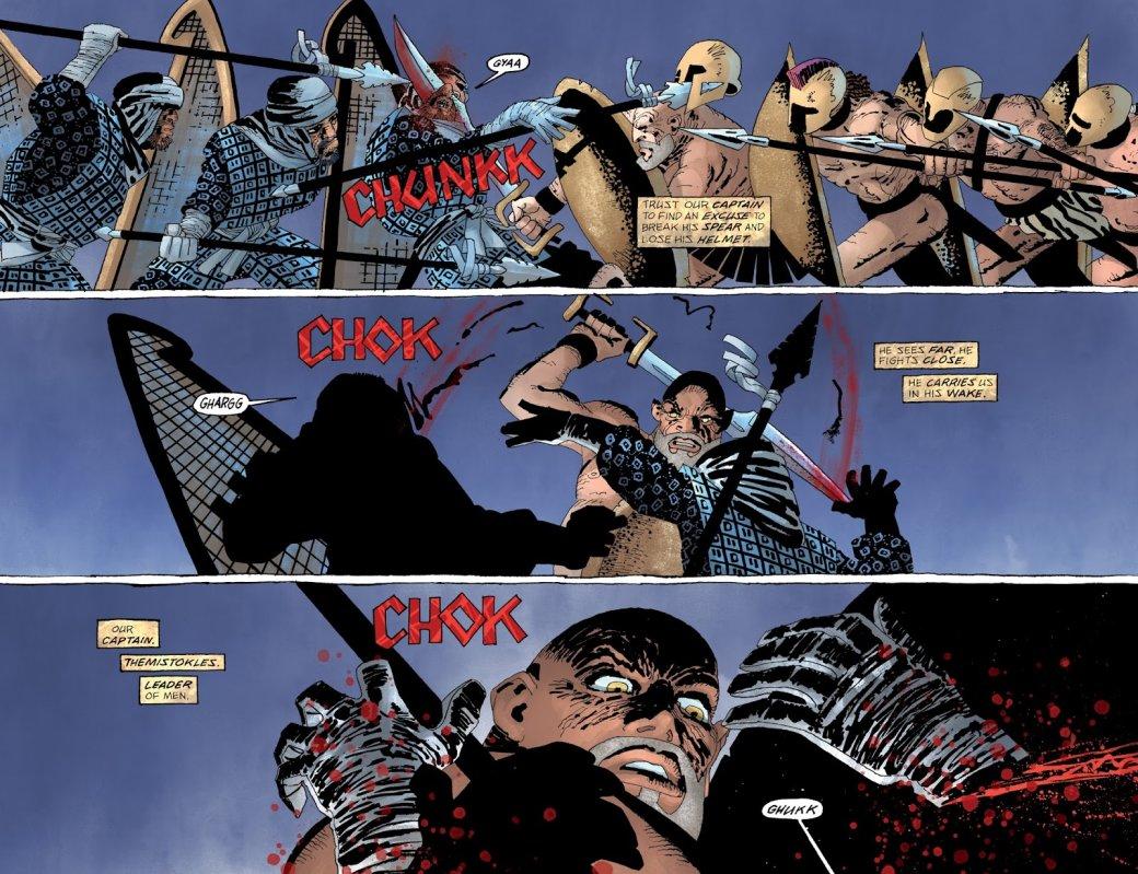 Что нетак с«Ксерксом» Фрэнка Миллера— сомнительным приквелом к«300 спартанцев» | Канобу - Изображение 9647