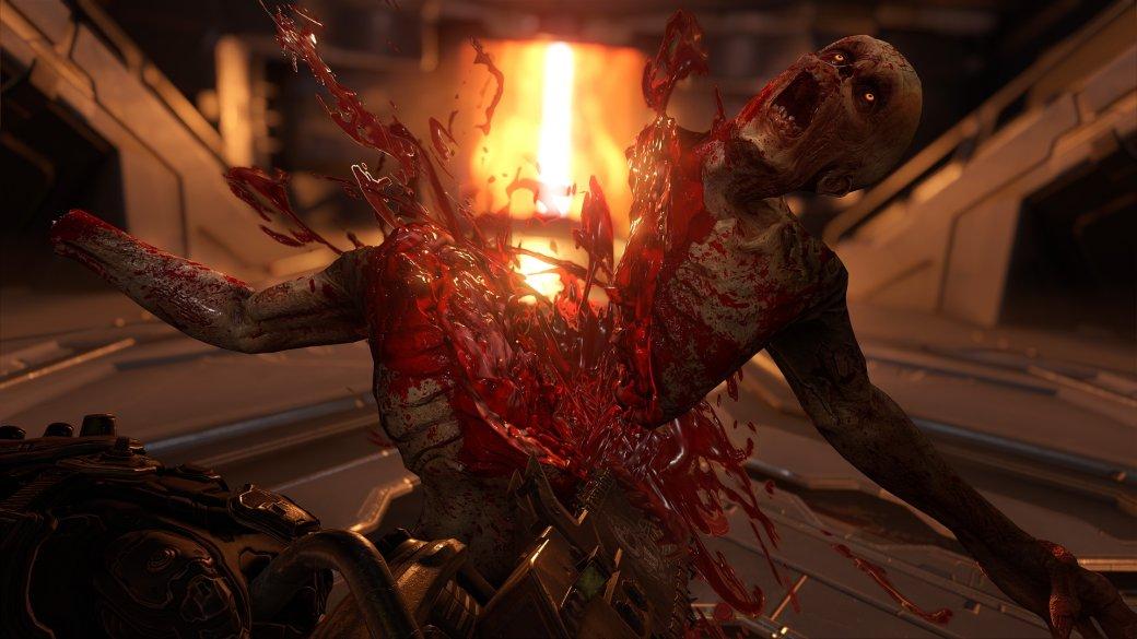 «ИгроМир 2019». Doom Eternal— сверхскоростной шутер, вкоторый низачто нельзя играть нагеймпаде