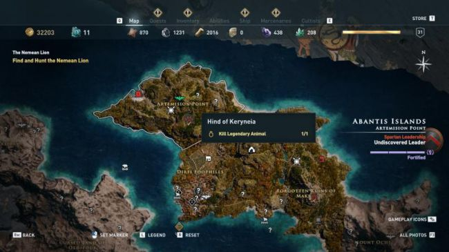 Гайд поAssassin's Creed: Odyssey. Где найти икак убить всех легендарных животных | Канобу - Изображение 2