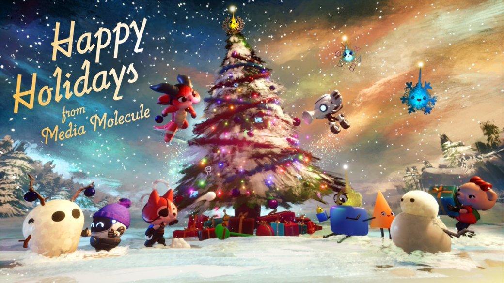 Издатели иразработчики поздравляют игроков сНовым годом иРождеством. Подборка открыток | Канобу - Изображение 6933