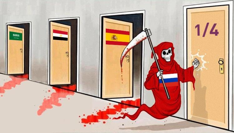Лучшие мемы ишутки про победу России над Испанией в1/8 финала Чемпионата мира [обновлено] | Канобу - Изображение 11950