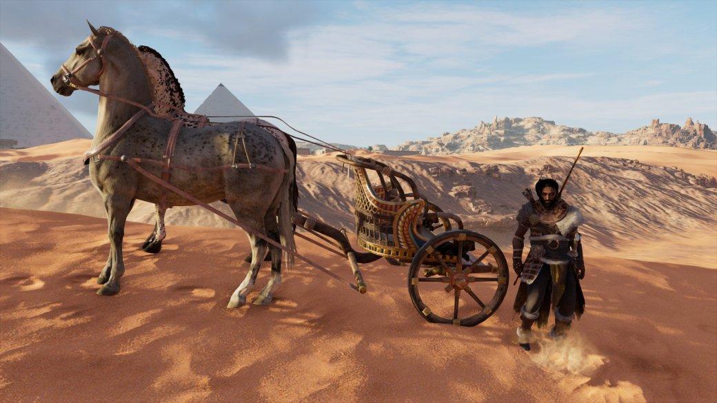 Гифка дня: восстание колесниц вAssassin's Creed: Origins | Канобу - Изображение 1774