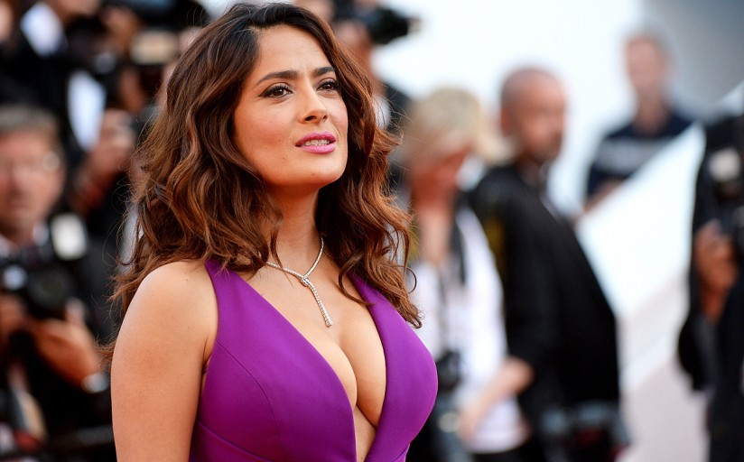 Сальма Хайек призналась, что боялась надеть костюм своей героини насъемках «Вечных»