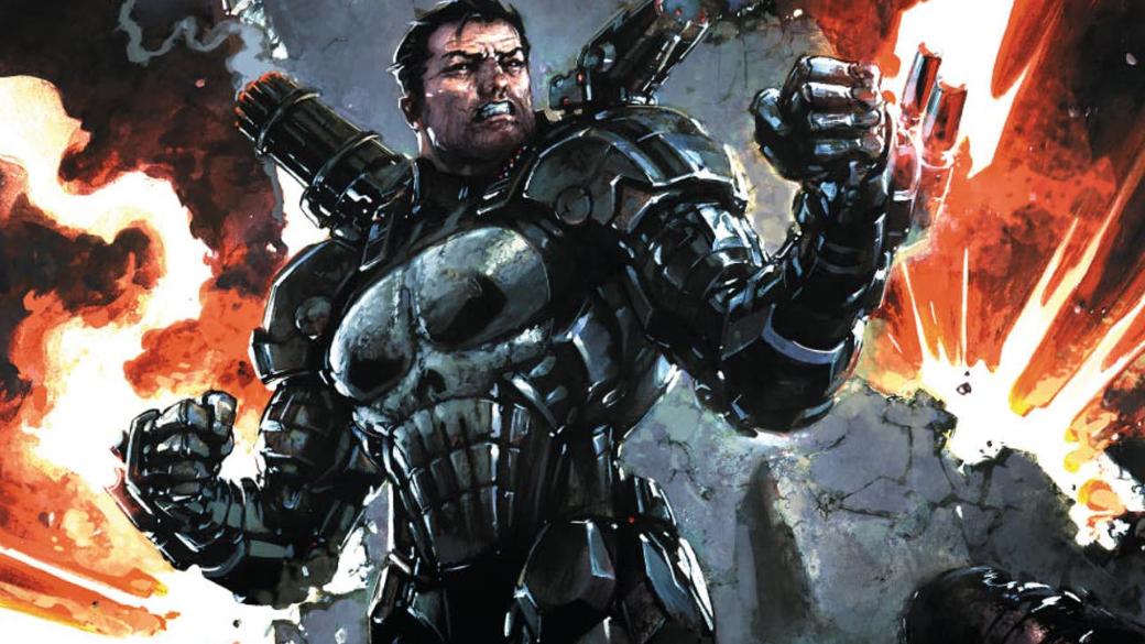 Каратель вброне Железного человека против злого генерала Петрова. Что такое Punisher: War Machine. - Изображение 1