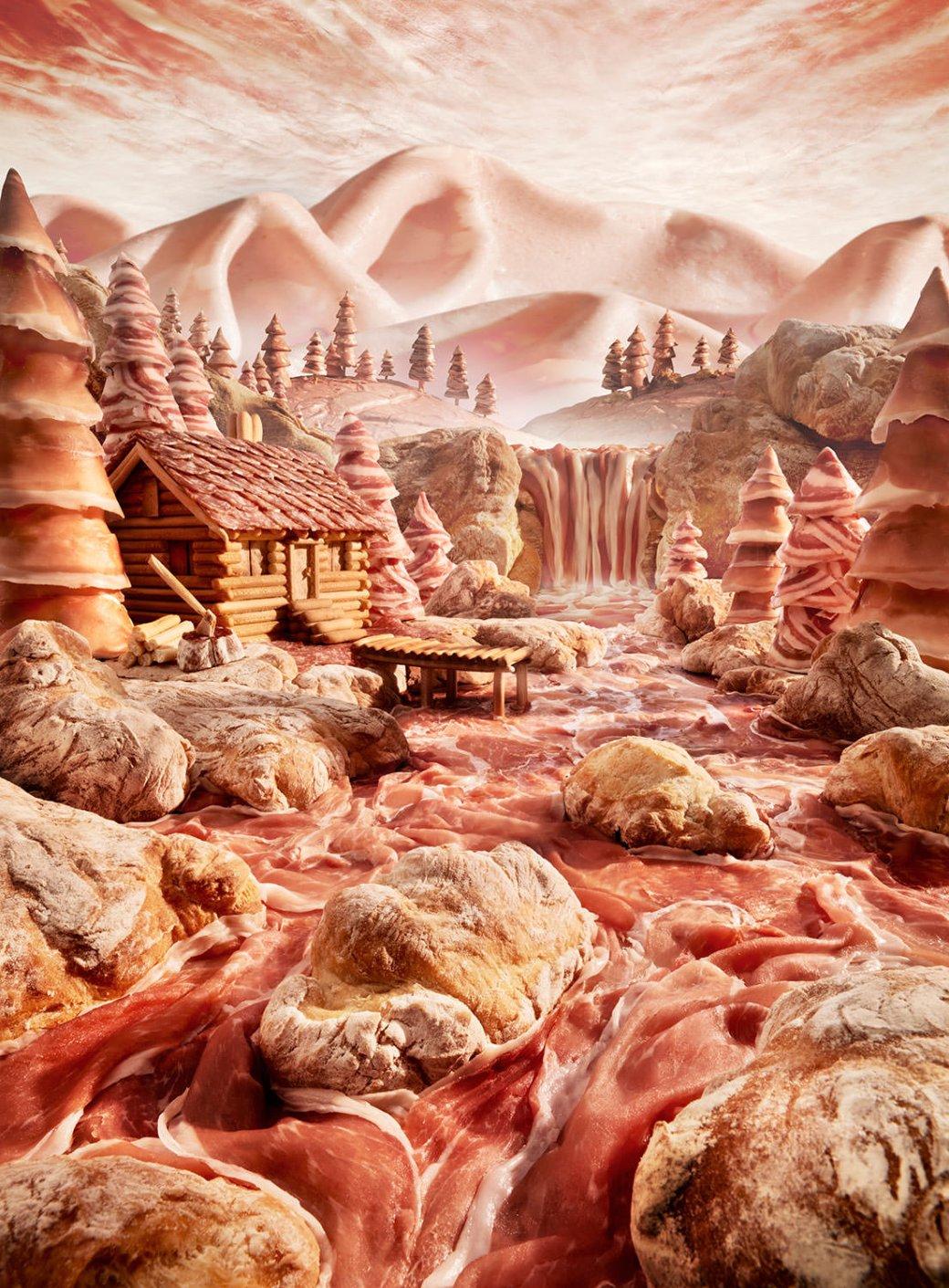 Фотограф создает сказочные пейзажи, используя только еду   Канобу - Изображение 13813