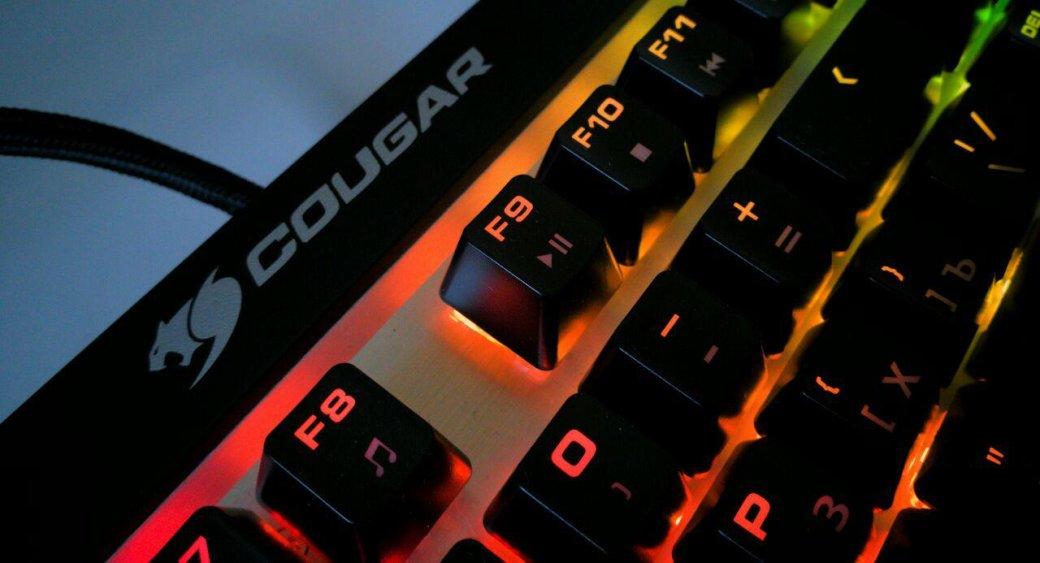 Клавиатура Cougar Attack X3 RGB— настоящие Cherry MXиничего лишнего   Канобу